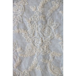 Cotton Embroidery Fabric xyz