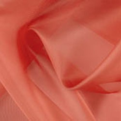 Diable Viscose Organza Plain Fabric