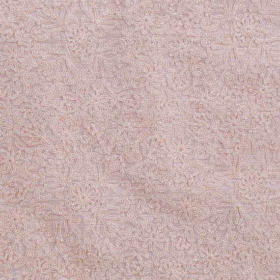 Phantom Brown Exclusive Embroidery  Fabric